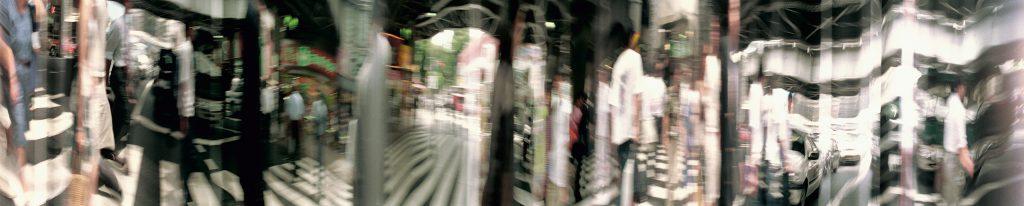 Crosswalk, Tokio, 70 x 325 cm, 1999