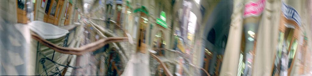 Martin Liebscher: GUM, Moskau, 2000 | 70 x 285 cm
