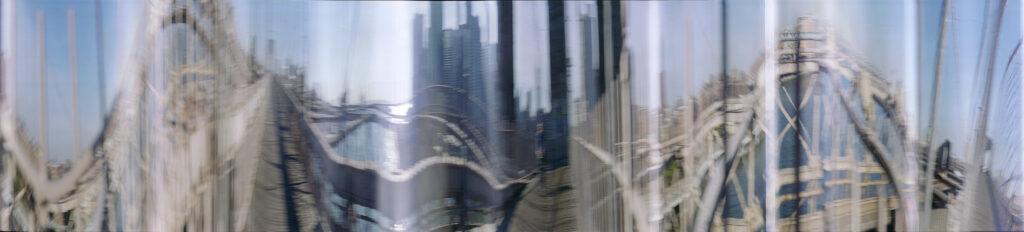 Martin Liebscher: Brooklyn Bridge, New York, 2000 | 50 x 225 cm