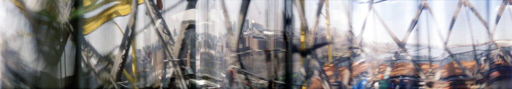 Martin Liebscher: Manhattan Bridge, New York City, 2001 | 70 x 415 cm