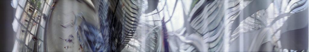 Martin Liebscher: Reichstags Kuppel , Berlin, 2001 | 70 x 395 cm