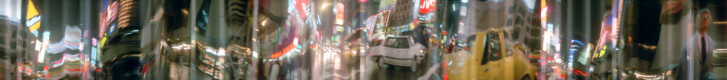 Martin Liebscher: Times Square, New York City, 1996 | 50 x 450 cm