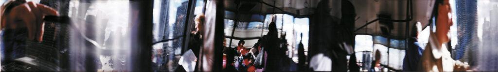 Martin Liebscher: Roosevelt Island 2, New York City, 1997 | 50 x 545 cm