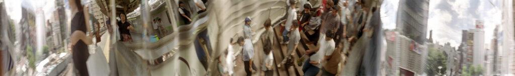 Martin Liebscher: Way Down, Tokyo, 1999 | 70 x 610 cm