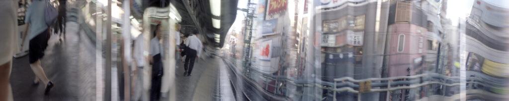 Martin Liebscher: Track 1, Tokyo, 1999 | 70 x 335 cm
