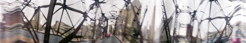 Martin Liebscher: W. Kinzie St. Bridge, Chicago | 2001 | 70 x 390 cm
