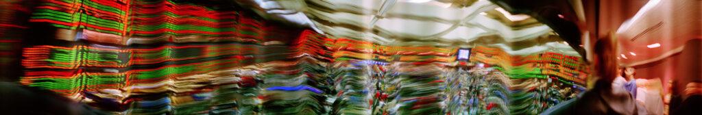Martin Liebscher: Stock Exchange, Chicago | 2001 | 100 x 610 cm