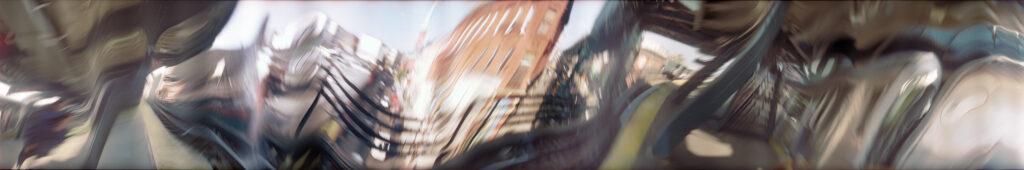 Martin Liebscher: Highline, New York | 2001 | 70 x 420 cm
