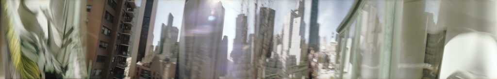 Martin Liebscher: Balcony, New York | 2011 | 70 x 450 cm