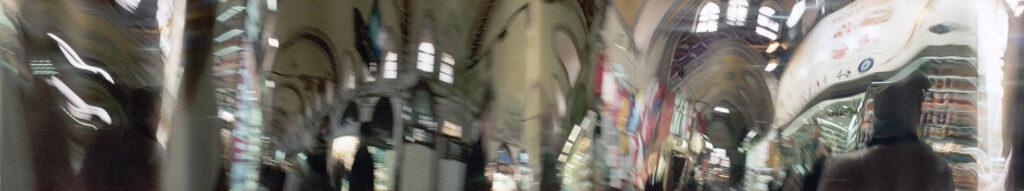 Martin Liebscher: Grand Bazaar, Istanbul | 2012 | 70 x 375 cm