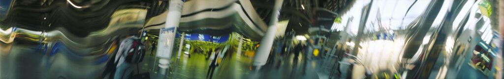 Martin Liebscher: Terminal, Frankfurt | 2013 | 60 x 380 cm