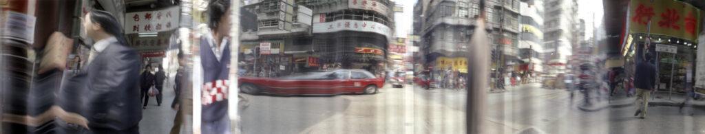 Martin Liebscher: Shanghai Street, HKG, 1994| 50 x 244 cm