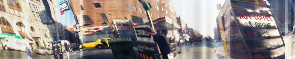 Martin Liebscher: Hot Coffee, New York | 1996 | 70 x 280 cm