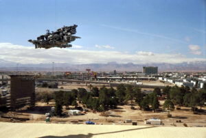 Martin Liebscher: Building Site, Las Vegas, NV | 1998