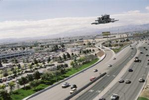 Martin Liebscher: Highway, Las Vegas, NV | 1998