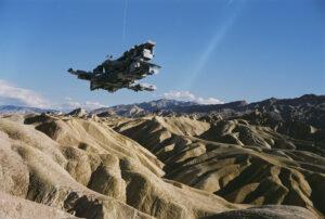 Martin Liebscher: Zabriski Point, Death Valley, CA | 1998