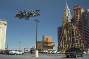 Martin Liebscher: Parking Lot; New York, New York, Las Vegas, NV   1998
