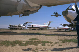 Martin Liebscher: USAir Shuttle, Mojave Air & Space Port, CA | 1998