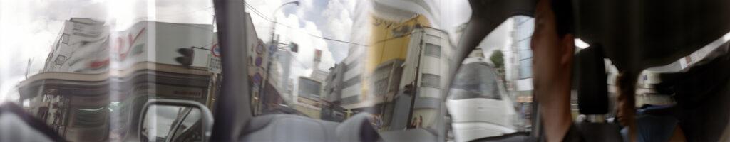 Martin Liebscher: Mirror, Tokio | 1999 | 70 x 360 cm