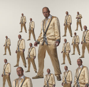 Martin Liebscher: 10.000 Liebschers can´t be wrong | 2010 | 31 x 31,5 cm