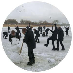 Martin Liebscher: Jahreszeiten Winter | 2012 | 50 x 50 cm