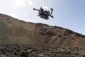 Martin Liebscher: Crater 1, LZ602, Lanzarote | 2018
